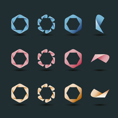 Infinite Ribbon Icon Collection
