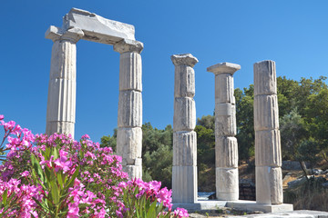 Temple of the Great Gods, Samothraki island, Greece