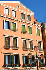 Hausfassade in Venedig