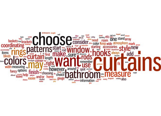How to Choose Curtains and Bathroom Accessories