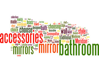 How to Choose Wall Mirrors and Bathroom Accessories