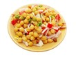 Salad  with chickpea (Cicer arietinum) or Bengal gram