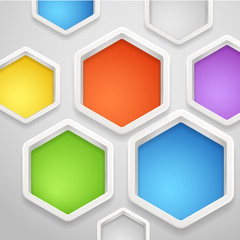 Modern social media abstract background