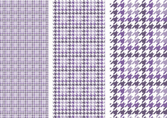 houndstooth(dull purple)