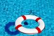 Leinwanddruck Bild - erhöhte Sicherheit am Ansaugrohr im Pool