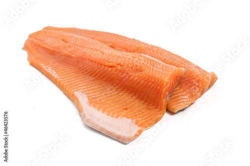 salmon trout fillet - filetto di trota salmonata
