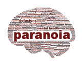 Paranoia mental health symbol design
