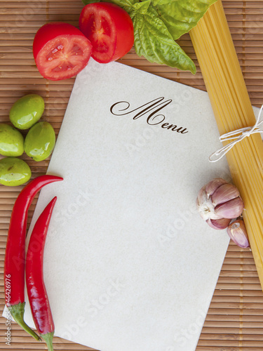 Menu Restaurant_photo