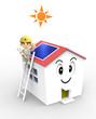 3D - Solar house02