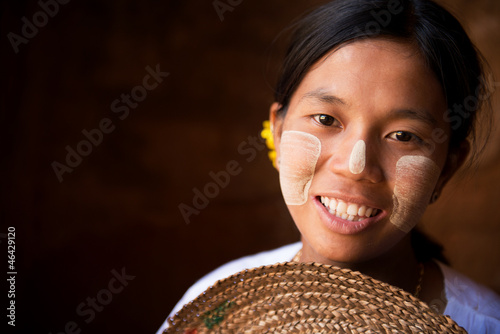 Pretty Myanmar girl