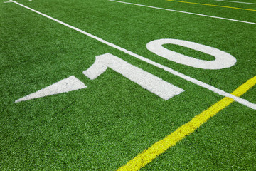 Ten yard line - football