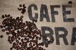 Kaffee Hintergrund Gewebe