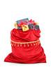 Santa's bag full of Christmas presents
