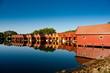 Skandinavische Bootshäuser