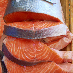red salmon cut for sale