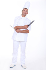 Cook with two knives