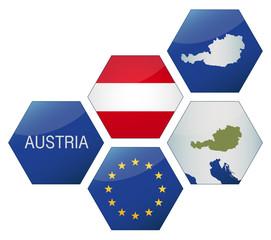 Vector Iconset *** EU Austria