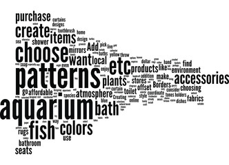 How to Use Bathroom Accessories to Design an Aquarium Bath