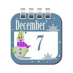 December seven