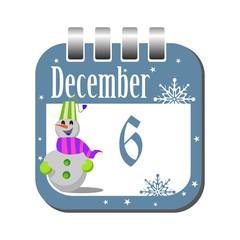 December six
