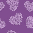 hearts made of roses seamless pattern vector eps8