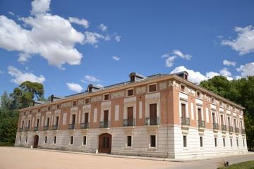 Casa del Labrador en el Jardin del Principe en Aranjuez