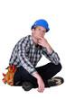 A thoughtful tradesmen