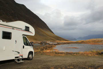 Campen am Fjord