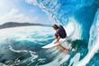 Leinwanddruck Bild - Surfing