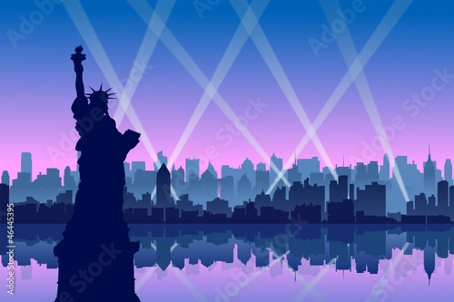 New York City. vector file