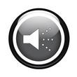 Speaker on black button