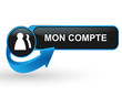 mon compte sur bouton web design bleu
