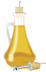oliera con dosatore