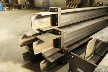 travi in acciaio industria costruzioni