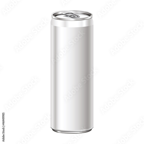 Can on white background - 46449985