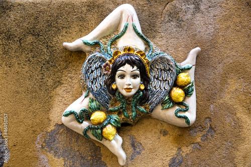 Ceramica siciliana - Trinacria