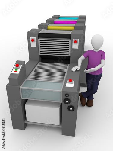 printing worker