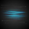 Shiny blue abstract stripes