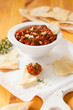 red pepper and walnut dip