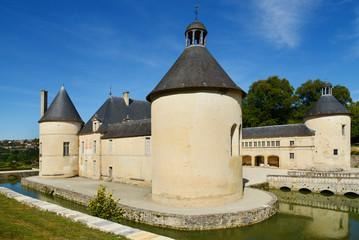Schloss in Burgund, Frankreich