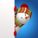 snowman banner