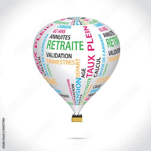 montgolfière retraite