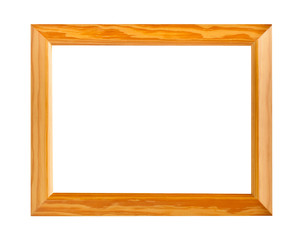 Wood frame for new photo