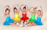 Fototapeta tło - balet - Dziecko