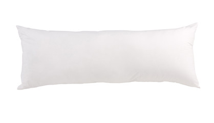 Big white bolster nice for bed time