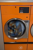 dryer in a laundromat