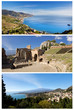 Collage - Taormina, Sicily