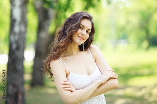 Young woman outdoor