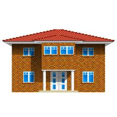Haus, Stadtvilla - Icon