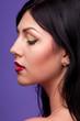 portrait of a woman brunettes